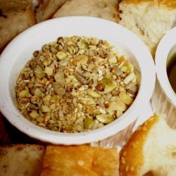 Cousin Pete's Yummiest Dukkah (Nut Dip) recipe