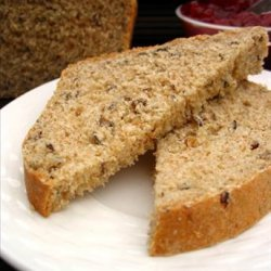 Wild Rice and Oat Bran Bread (With Bread Machine Directions) recipe