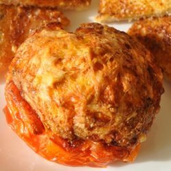Egg and Ham Filled Tomatoes recipe