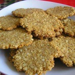 Easy Tasty Healthy (Ish) Flourless 2 Way Peanut Butter Cookies recipe