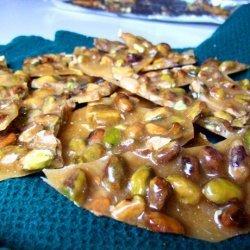 Pistachio Nut Brittle recipe