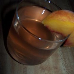 A Peach Infused Vodka recipe
