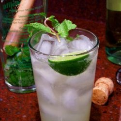 Champagne Mojitos recipe