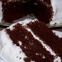 Devil's Food Cake Soaked in Rum recipe