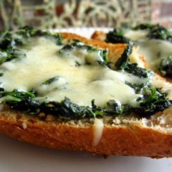 New Orleans Spinach Garlic Bread recipe
