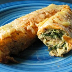 Chicken and Spinach Enchiladas recipe