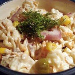 Low-Fat Salmon Pasta Salad recipe