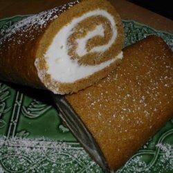 Special Occasion Pumpkin Roll Aka Hazel's Pumpkin Cake Roll recipe