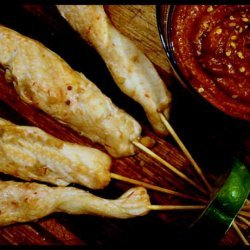Chicken Satay Appetizers recipe