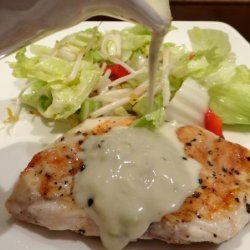 Blue Cheese Sauce for Steaks, Burgers, and Chicken recipe