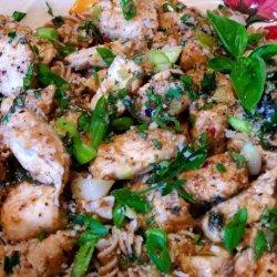 Chicken Scampi for Doll recipe