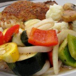 Balsamic Grilled Veggies recipe
