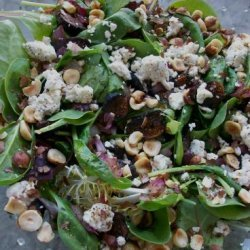Warm Spinach and Dried Fig Salad from Sun-Maid recipe