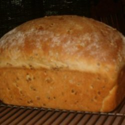 Honey Wheat Berry Bread recipe