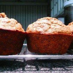 Whole Wheat Banana Flax Muffins recipe
