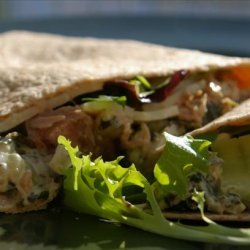 Tuna Guacamole Wrap for One recipe
