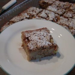 Healthy Apple Pear Cake recipe