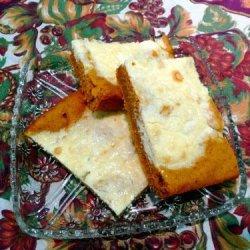 Diabetic Pumpkin Cream Cheese Squares recipe