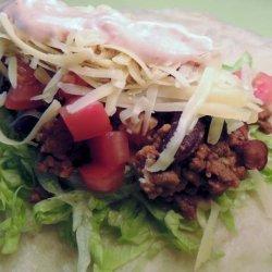 Pioneer Woman's Salad Tacos recipe