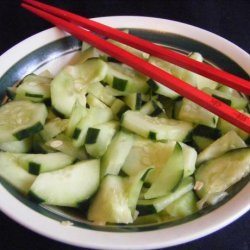 Smashed Cucumbers recipe