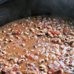 New Year's Day Black-Eyed Peas recipe