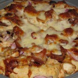 California Chicken Pizza recipe