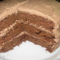 Decadent Chocolate-Lemon Ganache Cake recipe