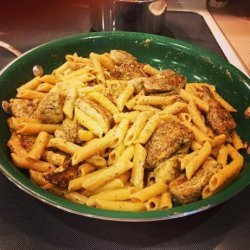 Giada's Chicken in Lemon Cream and Penne recipe