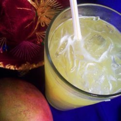 Non-Alcoholic Mango Margaritas recipe