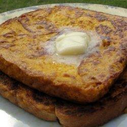 Pumpkin Pie French Toast OAMC recipe
