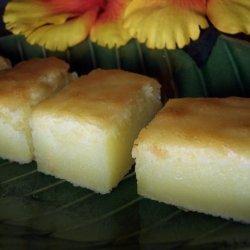 Lemon Pudding Mochi recipe