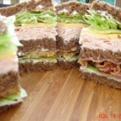 Redneck Club Sandwich recipe