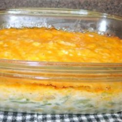 Green Bean Cheesy Dinner Party Casserole recipe