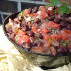 Spicy Black Bean Salsa recipe