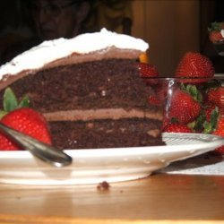 Anne of Green Gables Chocolate Goblin's Food Cake recipe