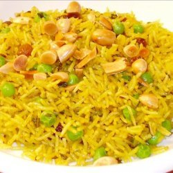 Pilaf With Peas and Raisins recipe