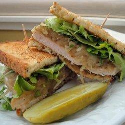 Pork Steak Sandwiches With Onions recipe