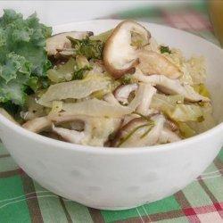 Quinoa With Leeks and Shiitake Mushrooms recipe