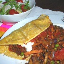 Vegetarian Mexican Casserole recipe