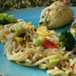 Ramen Noodle Stir-Fry Side Dish recipe