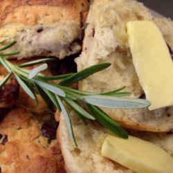 Olive and Rosemary Quickbread recipe