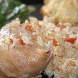 Cheesy Crock Pot Chicken With Rice recipe