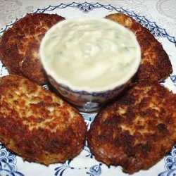 Crab Cakes With Cilantro Mayonnaise recipe