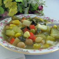 Tuscan Vegetable Soup With Fresh Sage recipe