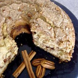 Sourdough Cinnamon Pecan Coffee Cake recipe