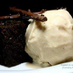 Coffee Almond Ice Cream recipe