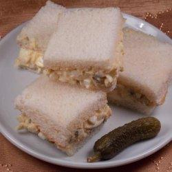 Egg Salad Tea Sandwich recipe