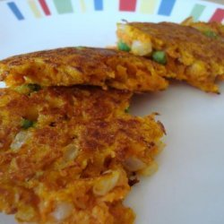 Curried Sweet Potato Fritters recipe