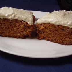 Low Sugar Carrot Cake recipe