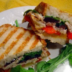 Marinated Chicken Panini recipe